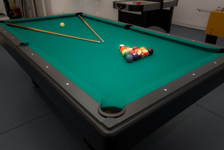 Game room - pool table, air hockey, foosball - 4BR Luxury Pool Home-WiFi,GameRM, Grill, byOrlando - Orlando - rentals