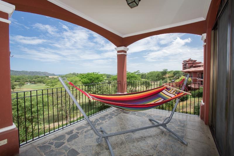 Hammock with ocean view - Golf Course condo at Resort Playa Conchal - Playa Conchal - rentals