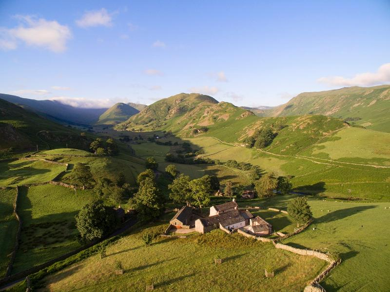 Hause Hall is in the middle of the Lake District National Park and a short walk from Ullswater lake - Hause Hall & the Cruik Barn, Lake District Park - Lake District - rentals