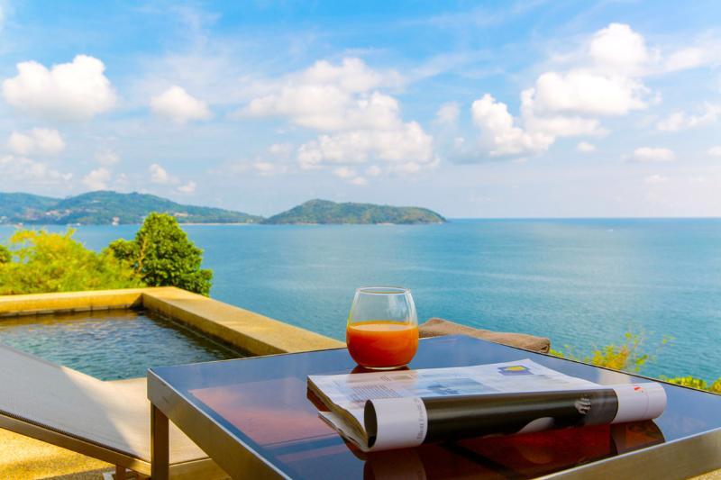 Panoramic Sea View, Beside The Beach - PSR03 - Image 1 - Rawai - rentals