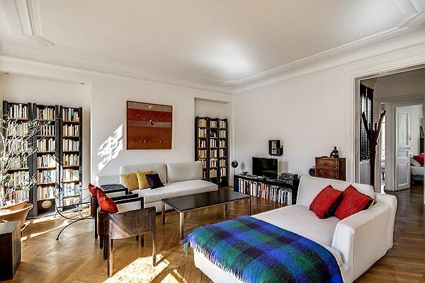 Living Room - Delightful 3 Bedroom Apartment in Saint Germain - Paris - rentals