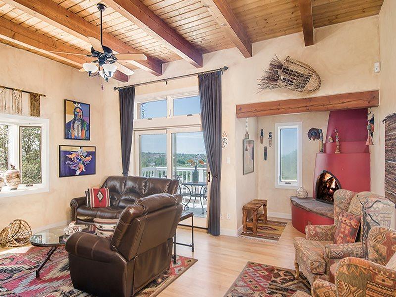 Living Room - Adobe Destinations - Casa Sulla Colina - Santa Fe - rentals