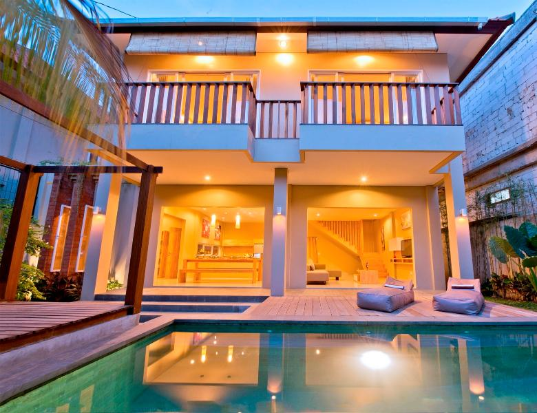 del Mar, 3BR Charming Villa on Seminyak Beach - Image 1 - Seminyak - rentals
