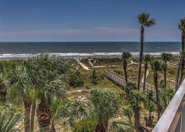 View - 312 Barrington Court- 3rd Floor Oceanfront! - Hilton Head - rentals