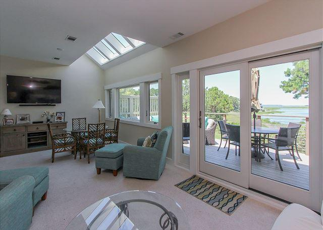 Living Area - 2 Braddock Cove Club - View, Views, Views of Braddock Cove. - Sea Pines - rentals