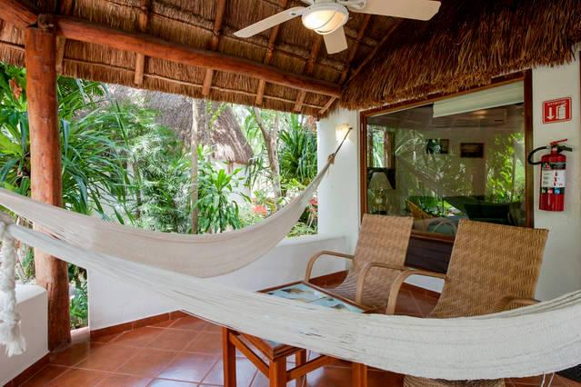 Garden Suite 121.Bungalow garden view. Fully equipped.On downtown. - Image 1 - Quintana Roo - rentals