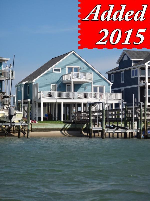Private Dock - Carolina Blvd 1336 -3 BR_SFH_SV_6 - Topsail Beach - rentals