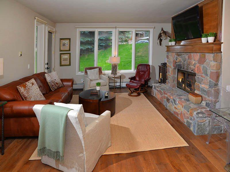 Enjoy easy access to the slopes from this beautiful Ski-In Ski-Out vacation condo in Arrowhead Village. - Image 1 - Vail - rentals