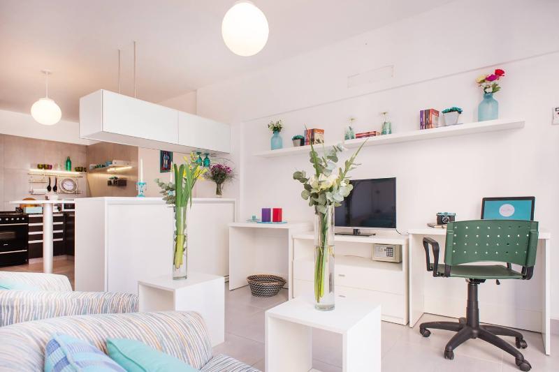 Modern Studio with Unique Patio Overlooking Palermo Soho - Image 1 - Buenos Aires - rentals