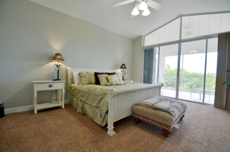 Master Bedroom - Villa 207 at Mariner's Club In Key Largo - Key Largo - rentals