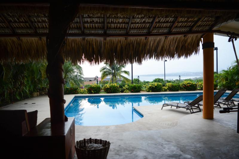 Shared designer pool with other 4 apartments.  Pool has panoramic views of Puerto Escondido - Puerto's best ocean views 2 BR  aptmt. & pool - Puerto Escondido - rentals