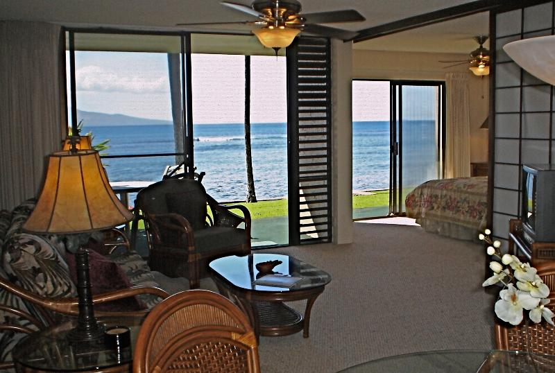 Direct oceanfront with incredible views! - Wow! Beautiful Maui Oceanfront 2bd/2bath free WIFI - Maalaea - rentals