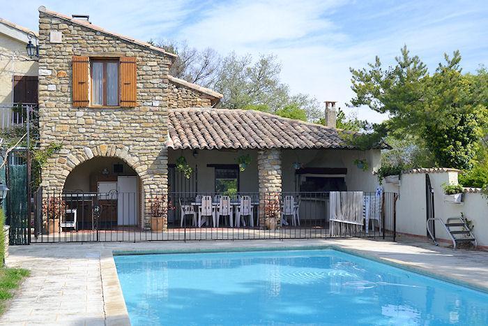Vaison-la-Romaine, caracterful restored landhouse 10p. private pool - Image 1 - Vaison-la-Romaine - rentals