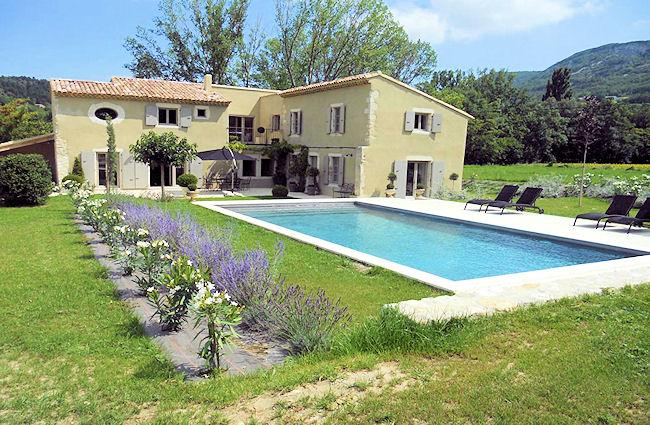 Souspierre Drôme, High level standing Landhouse 10p. private pool, unlimited view - Image 1 - Souspierre - rentals