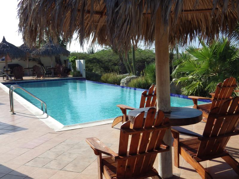 Enjoy the Pool - Aruba Cunucu ~ Studio Apartment - Palm/Eagle Beach - rentals