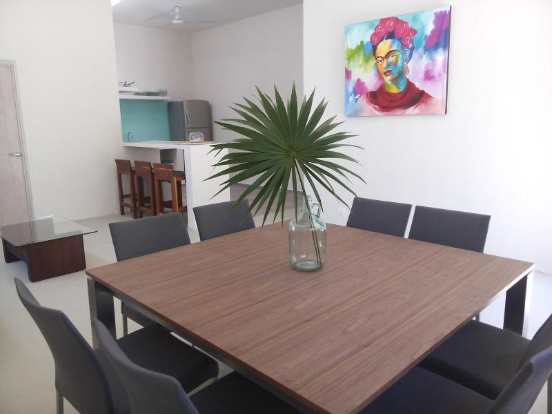 Living room - FAMILY FRIENDLY VACATION HOME - KITCHEN, WIFI & AC - Akumal - rentals