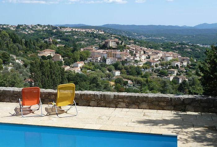 Callian Provence Var, Stone house 7p, private pool, superb view - Image 1 - Callian - rentals