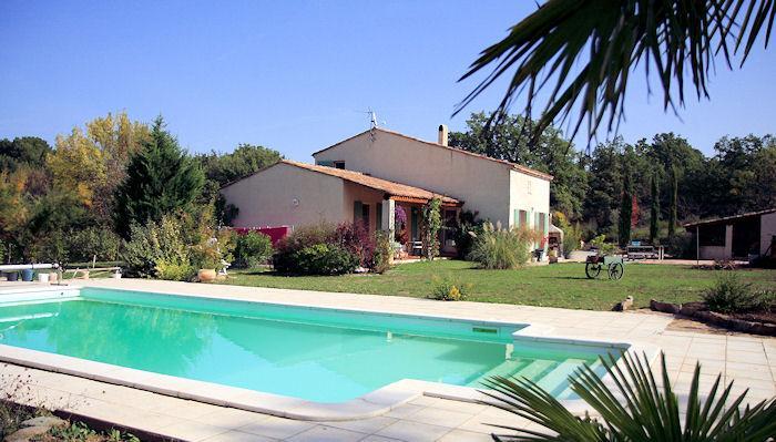 Trets, between Aix-en-Provence and the sea, Villa 8p. private pool - Image 1 - Trets - rentals
