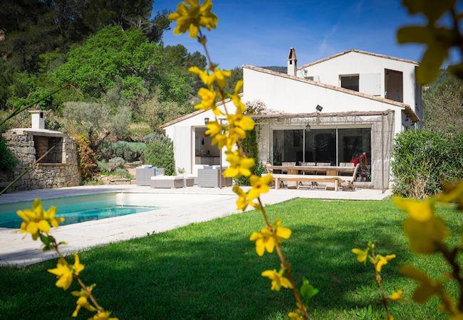 La Cadière d'Azur Provence Var, Villa 9p 3 ml from the sea, private pool - Image 1 - La Cadiere d'Azur - rentals