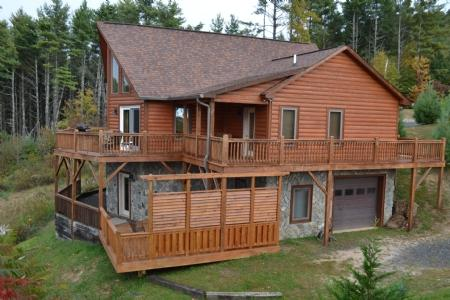 Wonderful Log Cabin with Awesome Views - Appalachian Sunset - Fleetwood - rentals