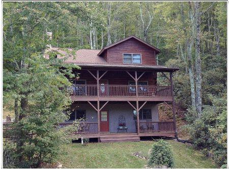 Beautiful Covered Decks to Enjoy the Mountains - Barefoot Cabin - Banner Elk - rentals
