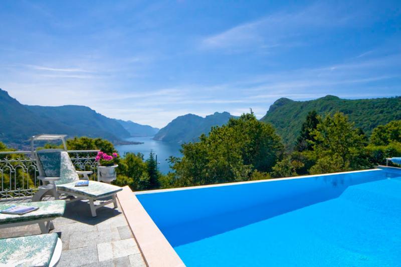 Villa Bellavista, Sleeps 6 - Image 1 - Civenna - rentals