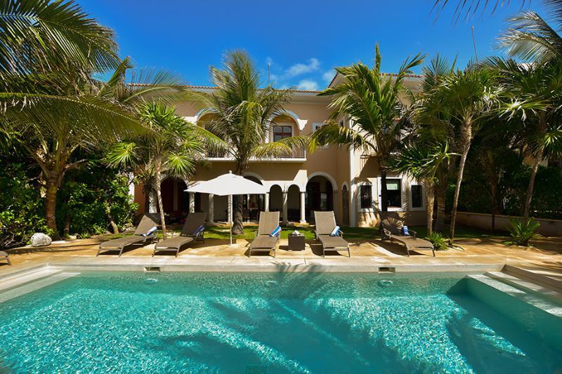 Riviera Maya Haciendas, Hacienda Corazon -Beachside Swimming Pool - Riviera Maya Haciendas - Hacienda Corazon Beach Front 5-10 BR - Puerto Aventuras - rentals