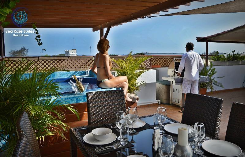 Ocean view terrasse - Luxurious VIP Penthouse 8Pax ocean view & jacuzzi - Santo Domingo - rentals