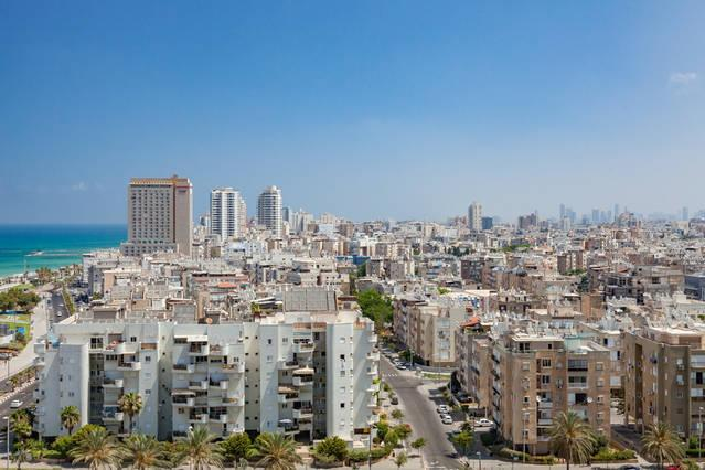 Large Terrace with 240° view, beach front - Unique Full Sea View, Gym, 2x Parking - Bat Yam - rentals