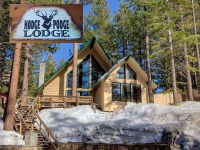 Idyllic House with 8 Bedroom/5 Bathroom in Lake Tahoe (105b) - Image 1 - Lake Tahoe - rentals