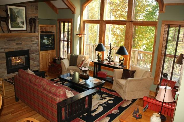 Living Room - The Richlands - Boone - rentals
