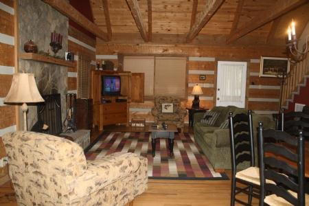 Living Room - Bear Den - Seven Devils - rentals