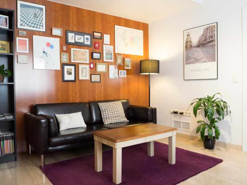 Salón - Living room - In the center of Granada. Free parking and Wi-Fi - Province of Granada - rentals