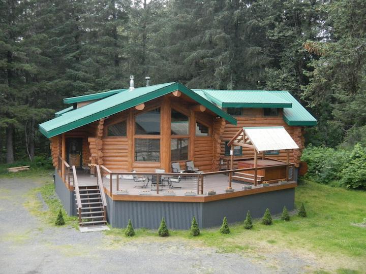 Bear Paw Lodge - Bear Paw Lodge : Beautiful Custom-Built Log Home ! - Seward - rentals