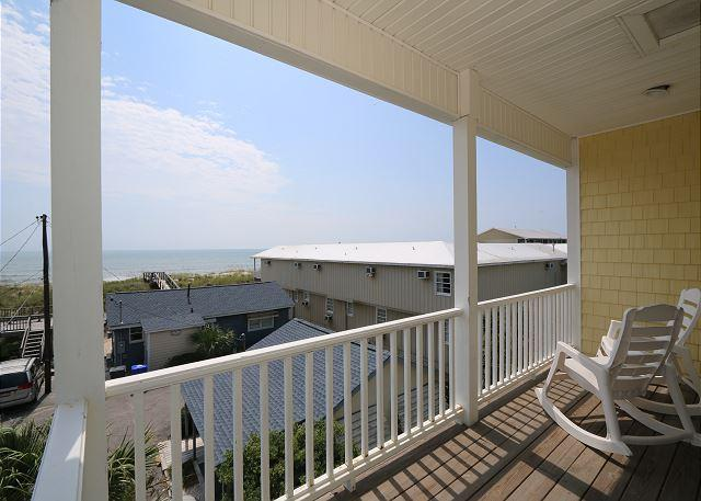 Sleeping Lady - The perfect ocean view duplex for your next beach vacation - Image 1 - Carolina Beach - rentals