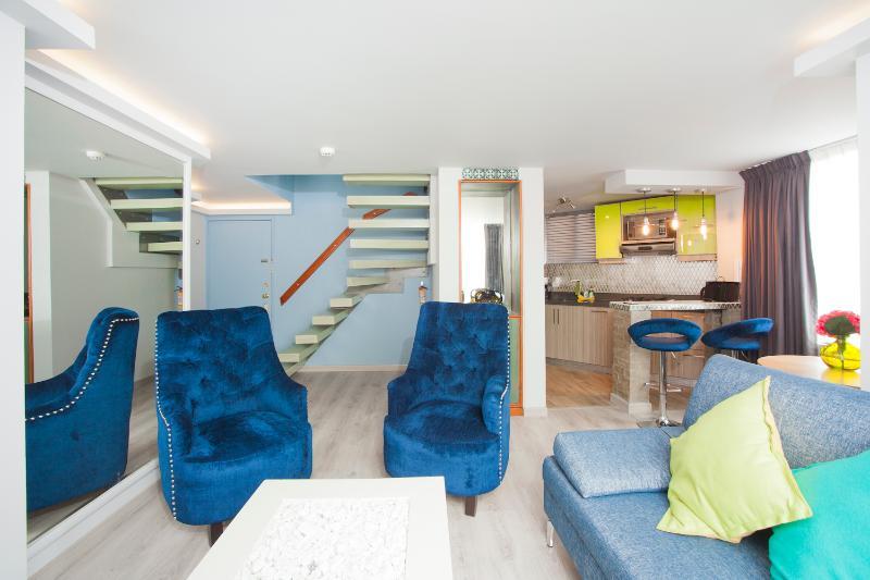 Luxury One Bedroom Duplex in Zona T - Image 1 - Bogota - rentals