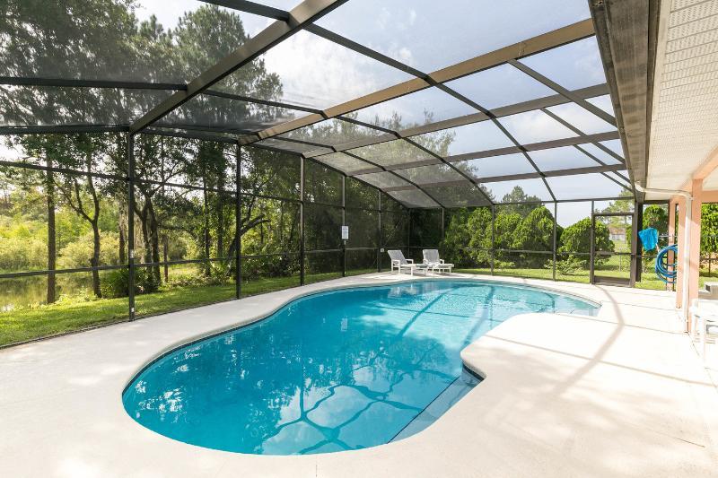The Huge sparkling  pool - Otters Lake, huge pool,only 10 mins Disney & shops - Kissimmee - rentals