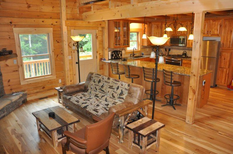 The Scratching Post - Upscale 3 Bedroom Cabin Near Fontana Lake with Dry Sauna - Image 1 - Almond - rentals
