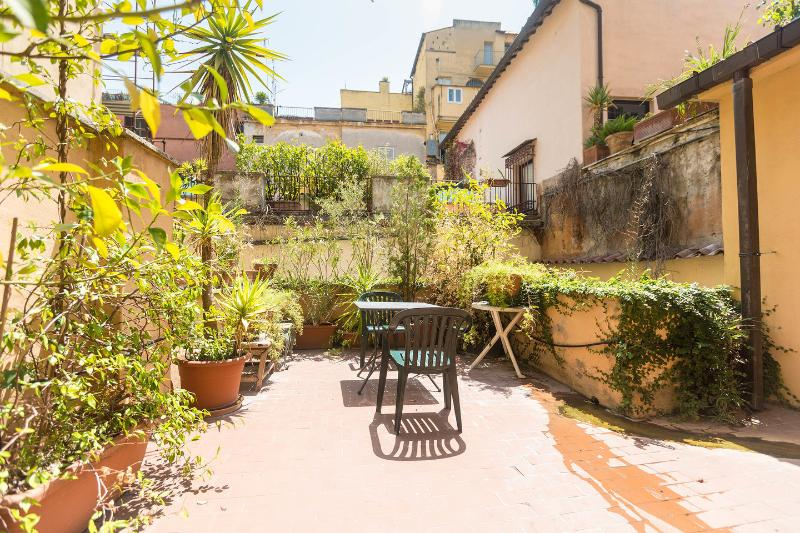 Terrace - Spanish Steps quiet apartment with large terrace - Rome - rentals