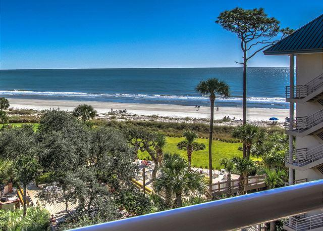 View - 1508 Villamare-5th Floor Awesome Oceanview-AVAILABLE 6/11 & 7/30  WEEKS - Hilton Head - rentals