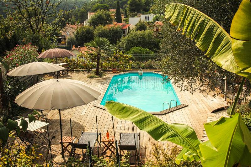 Vence lumineux quiet Holiday Apt. with pool (3) - Image 1 - Vence - rentals