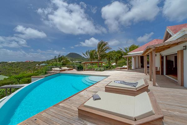 Elegant villa offering a wonderful view over the ocean WV VIP - Image 1 - Pointe Milou - rentals