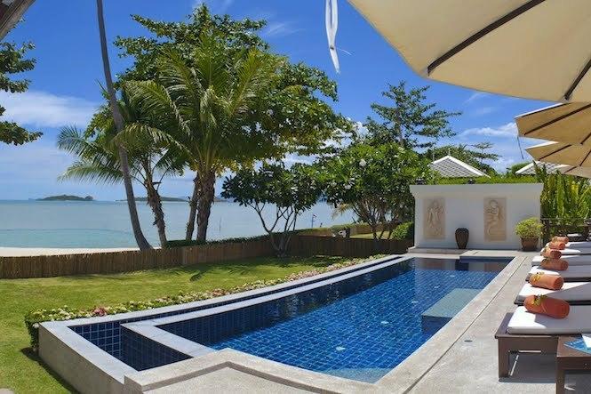 Villa 12 - Beach Front with Fantastic Sunsets - Image 1 - Plai Laem - rentals