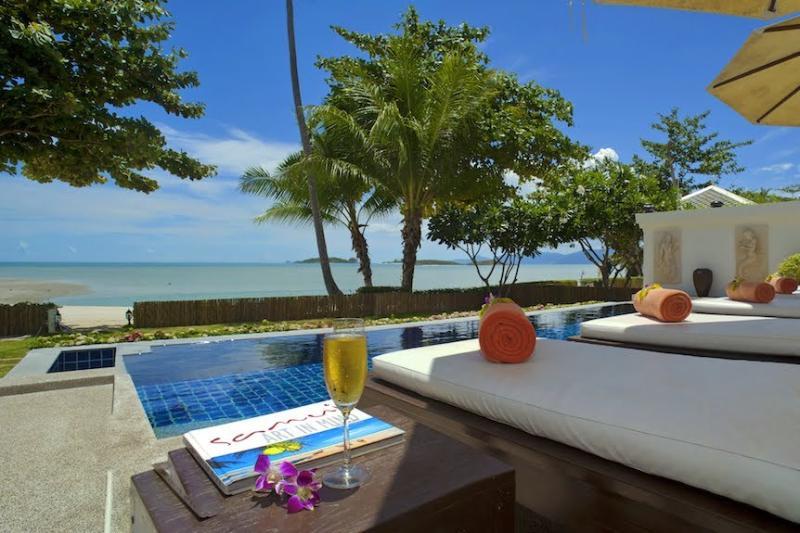 Villa 12 - Beach Front (2 Bedroom Option) - Image 1 - Plai Laem - rentals
