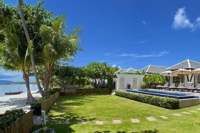 Villa 12 - Beach Front (1 Bedroom Option) - Image 1 - Plai Laem - rentals