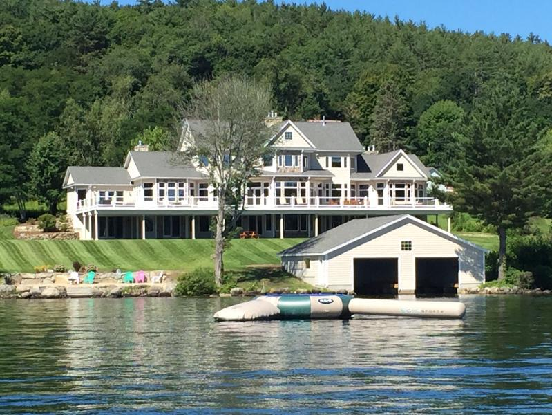 Spectacular Winnipesaukee Waterfront Estate - Image 1 - Center Harbor - rentals