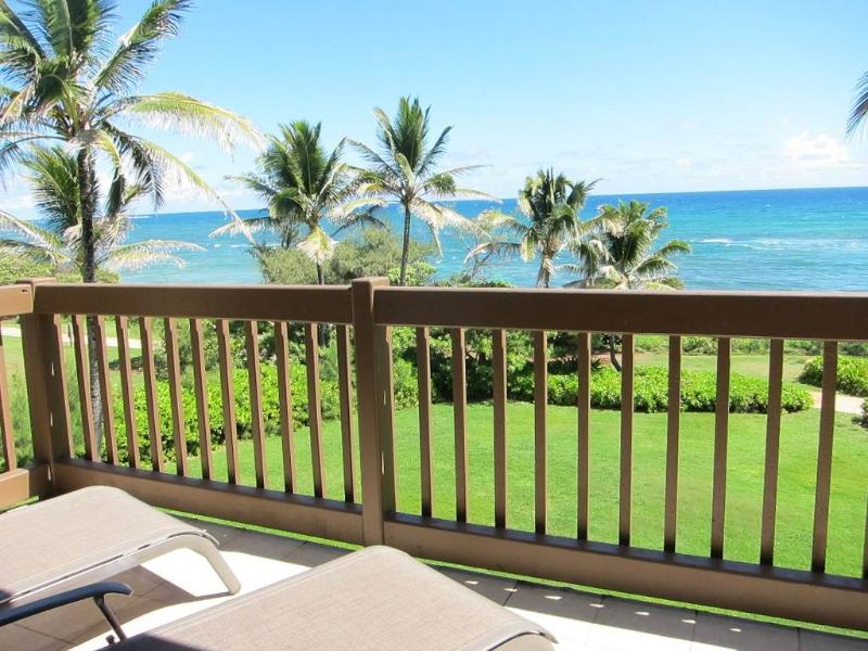 Kaha Lani Resort #326-OCEANFRONT, Top Unit! - Image 1 - Lihue - rentals
