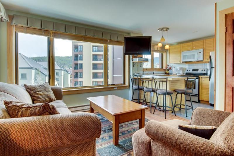 Ski-in/ski-out condo in town w/ resort amenities including pool & hot tubs - Image 1 - Breckenridge - rentals