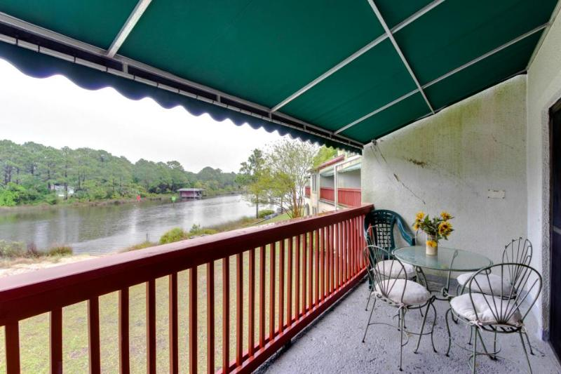 Lakefront home w/ lake views, shared hot tub & pool - easy beach access! - Image 1 - Panama City Beach - rentals