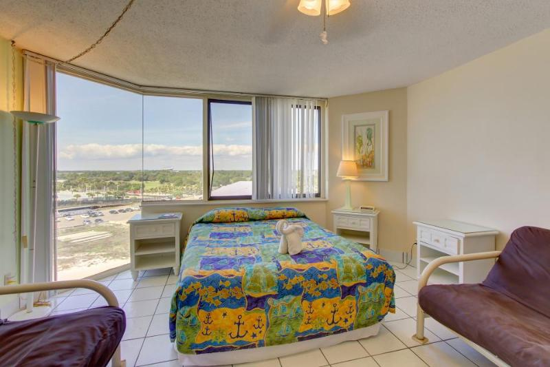 Beachfront condo with access to pools, fitness, & game room! - Image 1 - Panama City Beach - rentals